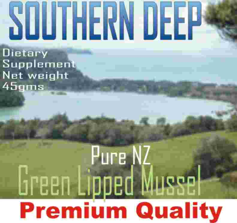 For suggested dosage of Green Lipped Mussel capsules, click here.